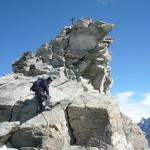 Sommet du Zinalrothorn, 4221m, août 2008